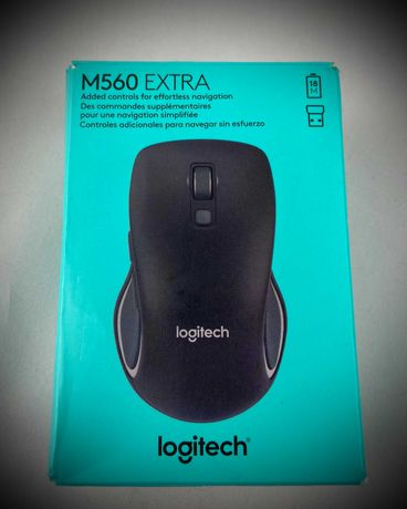 Новая мышь Logitech M560 Extra Wireless Mouse open box