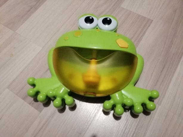 Żaba kąpielowa do robienia piany