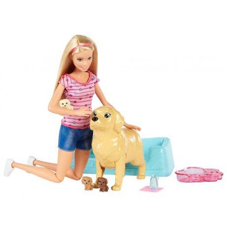"""Набор с куклой Барби Barbie """"Малыши-щенята"""" FBN17 США"""