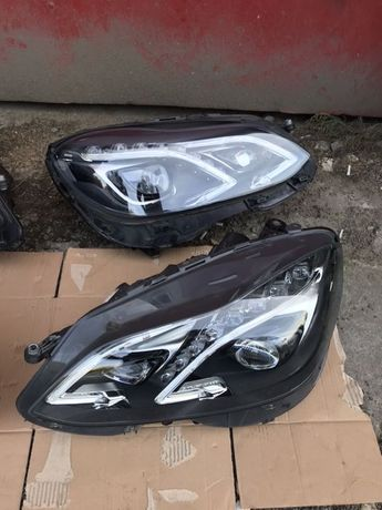 Фары для Mercedes-Benz E-Class W212 рестайлинг Full LED фонари фари