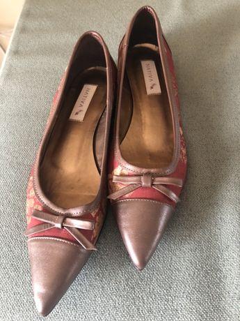 Sapato tecido loja nativa made in Brasil tam 39 europa