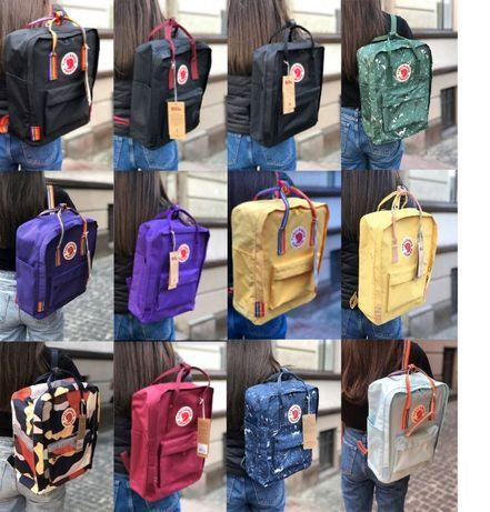 100Кольорів!!! Fjallraven Kanken Classic Bag Classik mini рюкзак сумка