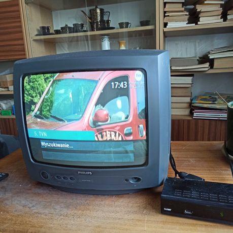 Sprzedam telewizor Philips 14 cali z dekoderem