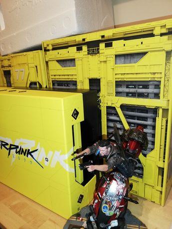 cyberpunk figurka + kartony + styropian KOLEKCJONERSKIE WYDANIE