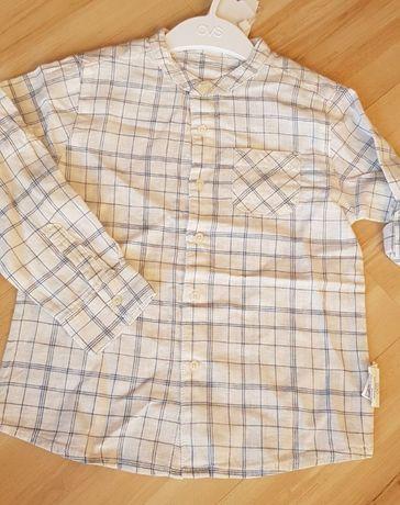 bawełniana, lekka koszula rozmiar 98cm ovs nowa