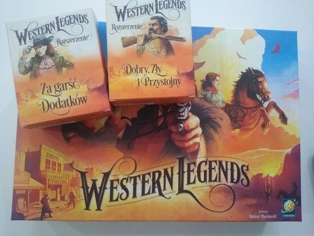 Kemet z dodatkami + Western legends z dodatkami