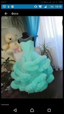 Платье облако для фотосессий, выпускного, день рождения