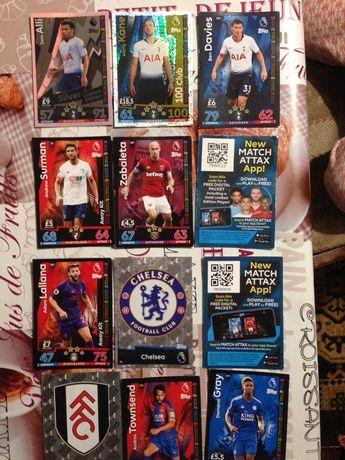 Футбольные карточки или обменяю