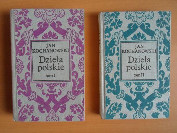 Jan Kochanowski- Dzieła polskie tom 1 i 2