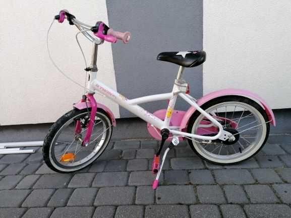 Rowerek dziecięcy dla dziewczynki koła 16cali okazja