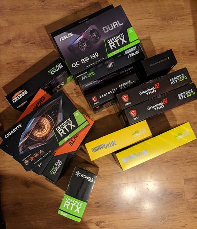 Nowe GeForce RtX 3070 FV23%