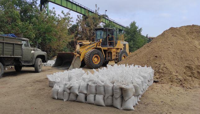 Песок, щебень, отсев, глина, керамзит и др. в мешках и навалом