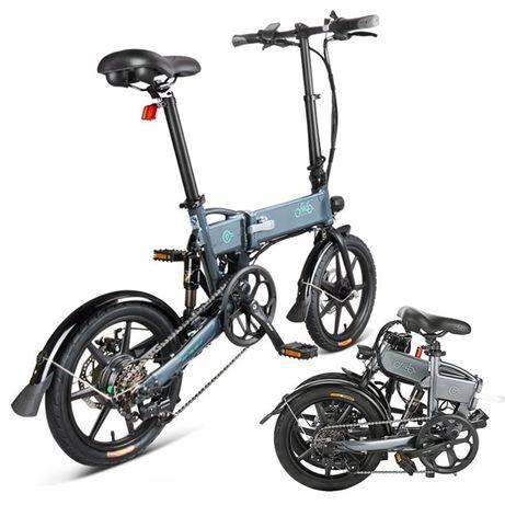 rower elektryczny Fiido składany składak miasto kamper jacht Shimano
