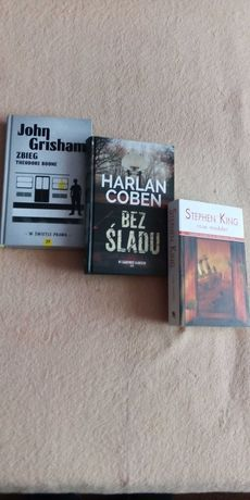 Sprzedam książki autorów: King, Gerritsen, Grisham, Coben i innych.