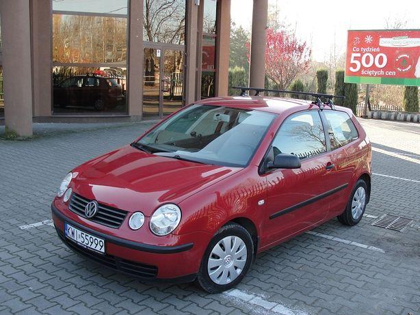 Volkswagen Polo okularnik 2002 polski salon 1.4 16V benz. + gaz