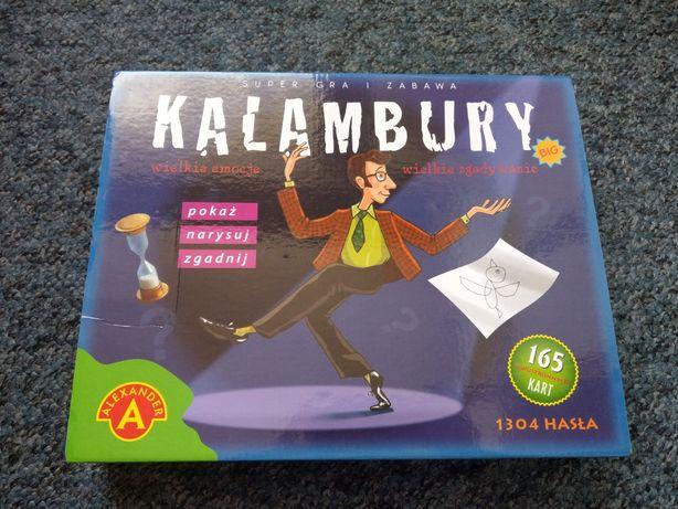 Kalambury gra planszowa dużo haseł