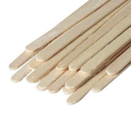 Мешалка для кофейни деревянная ЭКО Толстая, 140мм. Арт 03386