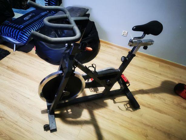 Rower rowerek stacjonarny spinningowy spartacus duże koło treningowy