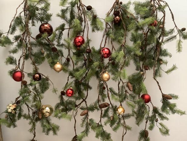 Sia decoração de Natal novas com etiqueta
