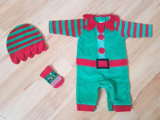 Новогодний костюмчик для малыша Next 0-3 мес.