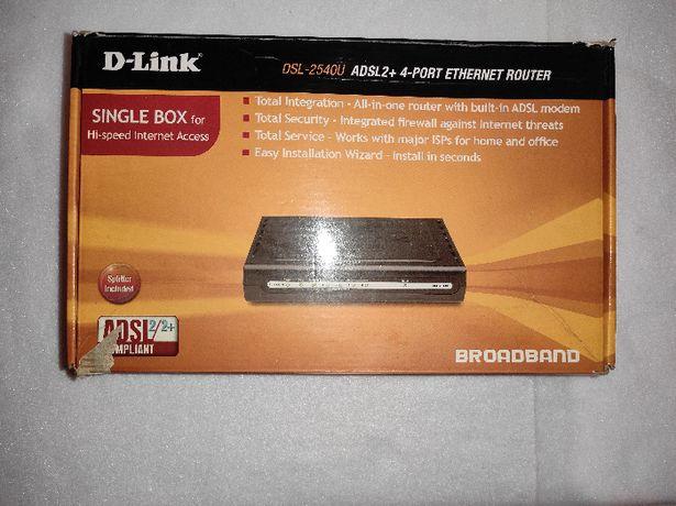 Модем Роутер Маршрутизатор D-LINK DSL-2500U ADSL2+