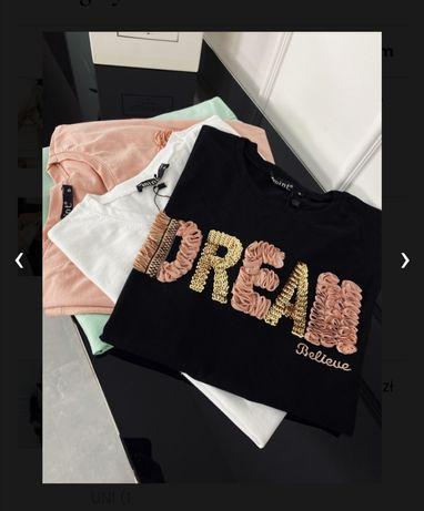 T'shirt Dream czarny
