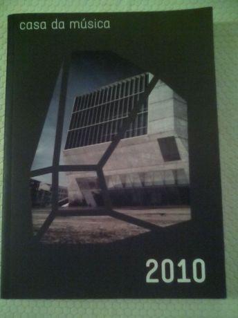 Livro Casa da Música agenda 2010 Porto