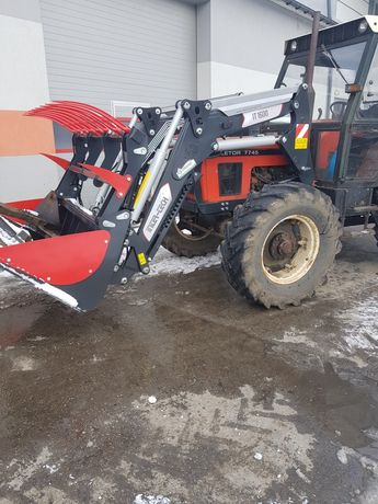 Ładowacz-Tur do Zetor 7245,7745 Nowy Inter Tech IT1600K 3.65 m
