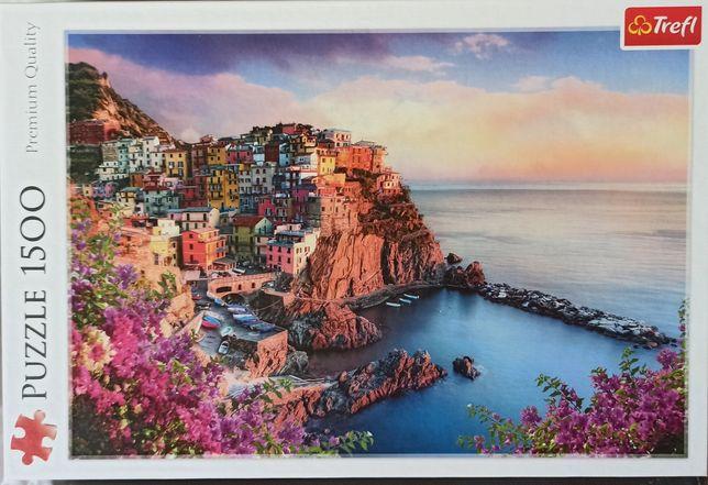 Puzzle trefl 1500 Włochy Manarola
