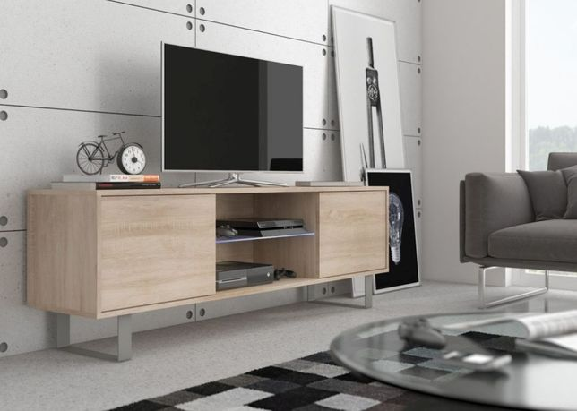 Szafka RTV Modern 2 NOWOŚĆ !! Polecamy w wersji z LED !!