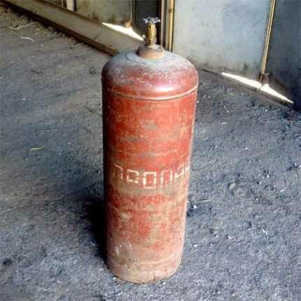 Продам баллон газовый в Помошной