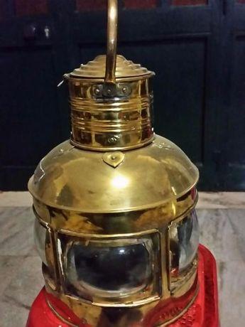 Lanterna / Candeeiro de latão (de colecção) 5 un