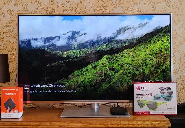 Telewizor Panasonic TX-L42ET60E 3D, Mi Box S TV 4K + LG 3D Glasses
