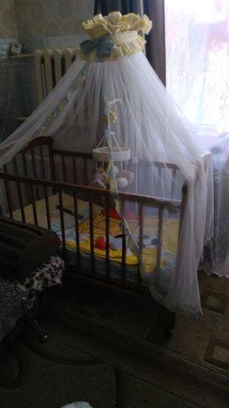 Продам балдахин для кроватки