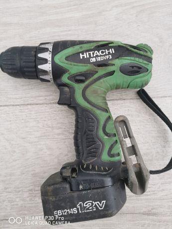 Sprzedam wkrętarkę HITACHI DS 12DVF3. Sprawna w 100 procentach.