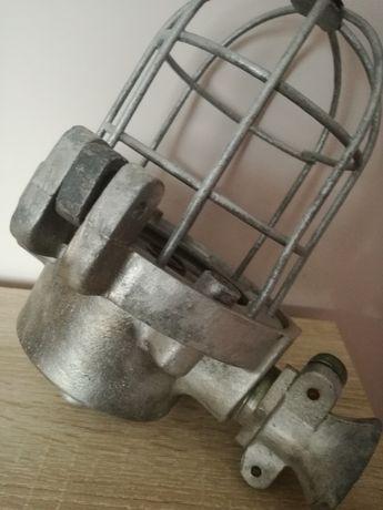 Lampa przemysłowa Energia Sosnowiec 1948r. Oryginał