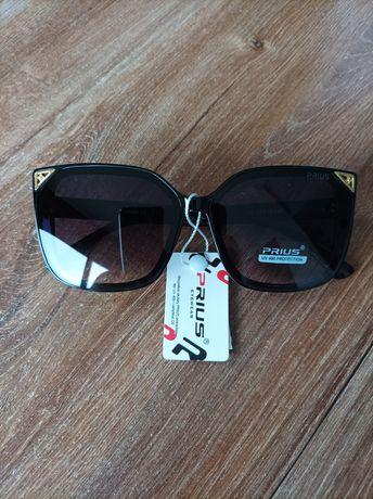 Okulary przeciwsłoneczne UV400 czarne