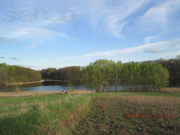 ДОМ(под реконструкцию)+30 сот. на берегу озера в заповеднике Качановка