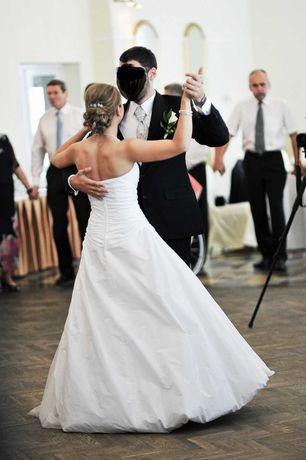 Suknia ślubna Elizabeth Passion biała r34/36 S10