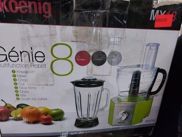 NOWY Robot kuchenny wielofunkcyjny 8 funkcji H.KOENIG 800W