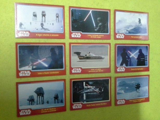 160 cartas STAR WARS