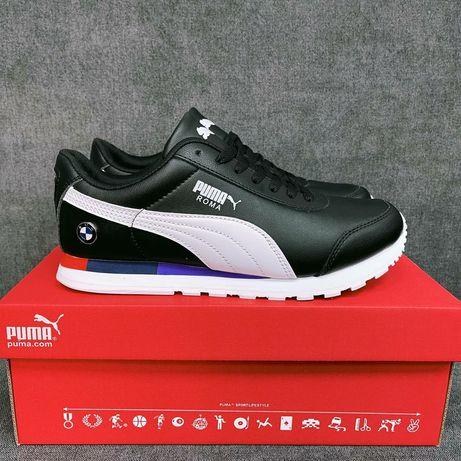 Кроссовки Puma Roma BMW Black/White