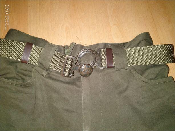 Spodnie harcerskie z paskiem ZHP firma Morowo