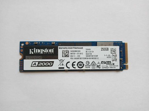 Продам SSD диск Kingston 250Gb. M.2 NVMe