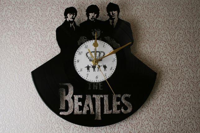 Relógio de Parede em Vinil - The Beatles 2