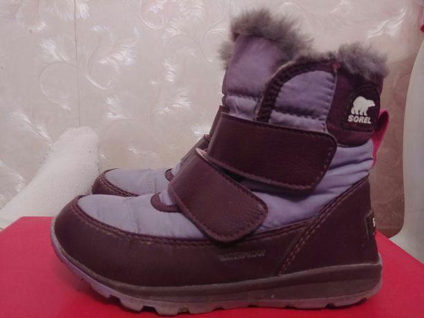 Сапожки ботинки зима бренд фирма Sorel