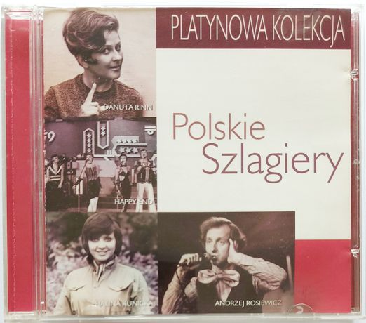 Platynowa Kolekcja Polskie Szlagiery 1999r Halina Kunicka Bolter