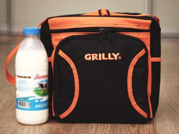 Термосумка Grilly плюс набор посуды на 4 человека