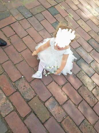 Sukienka tiulowa dla dziewczynki rozm. 104
