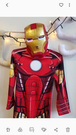 Stroje karnawałowe Iron Man r. 104-146